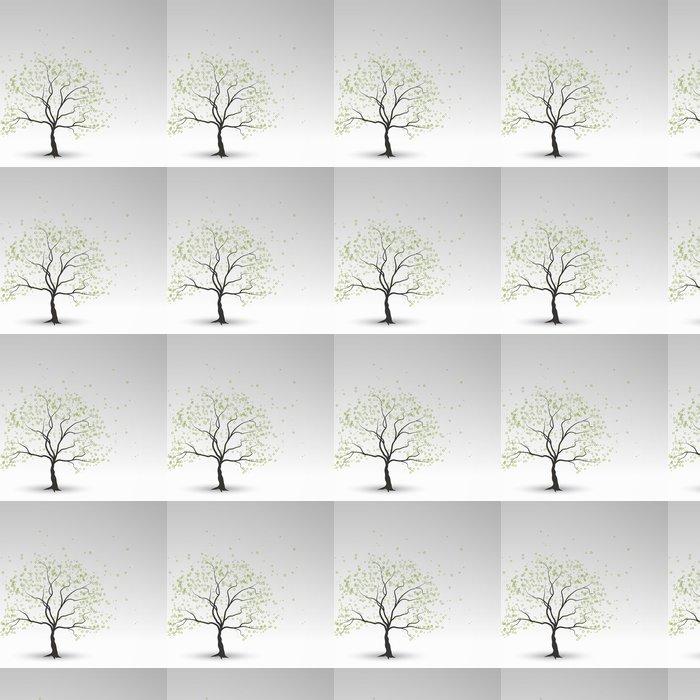 Vinylová Tapeta Jarní strom - Stromy