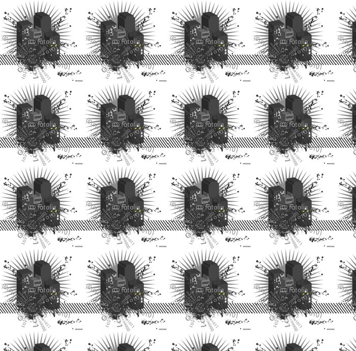 Vinylová Tapeta City vector - Abstraktní