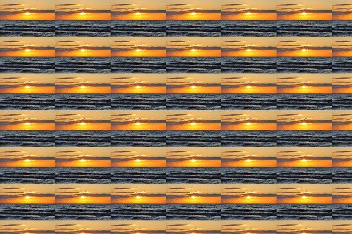 Vinylová Tapeta Západ slunce na moři - Nebe