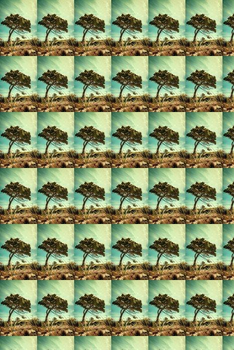 Vinylová Tapeta Vintage Nature Design.Old stylizovaný pozadí - Přírodní krásy