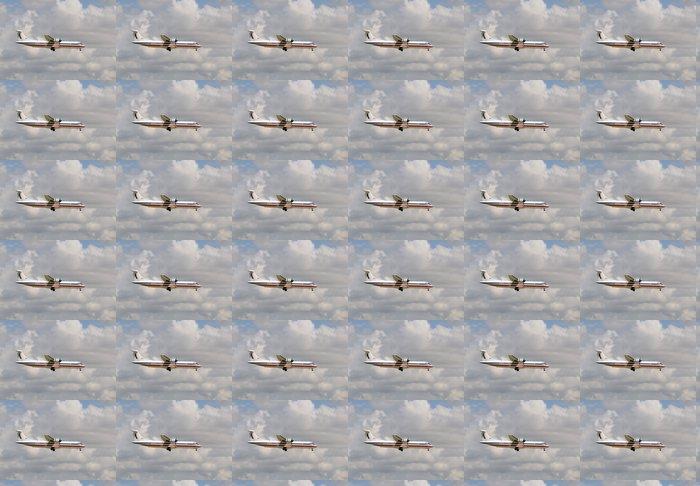 Vinylová Tapeta Boční Vrtule letadla pohled - Vzduch