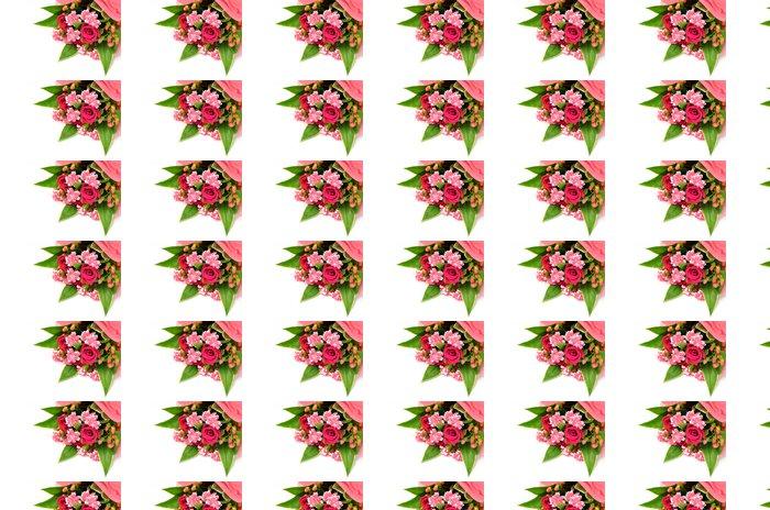 Vinylová Tapeta バ ラ と カ ー ネ ー シ ョ ン の 花束 - Květiny