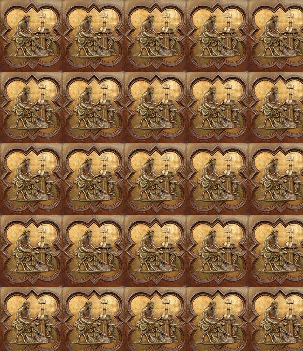Vinylová Tapeta St Luke evangelista Lorenzo Ghiberti - Umění a tvorba
