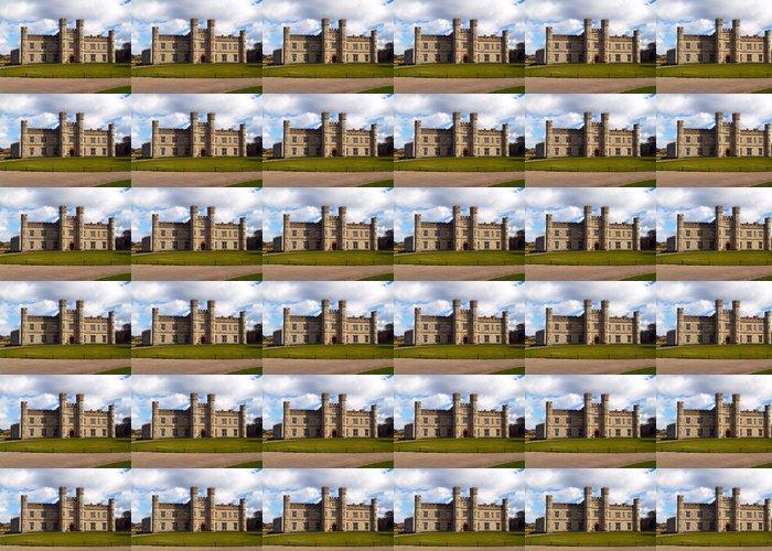 Vinylová Tapeta Leeds hrad v Anglii v zimě - Památky