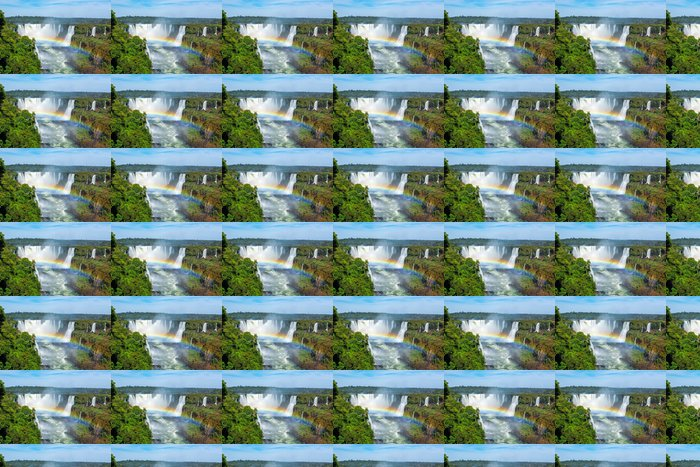 Vinylová Tapeta Iguazu Falls Foz do Iguacu, Brazílie - Amerika
