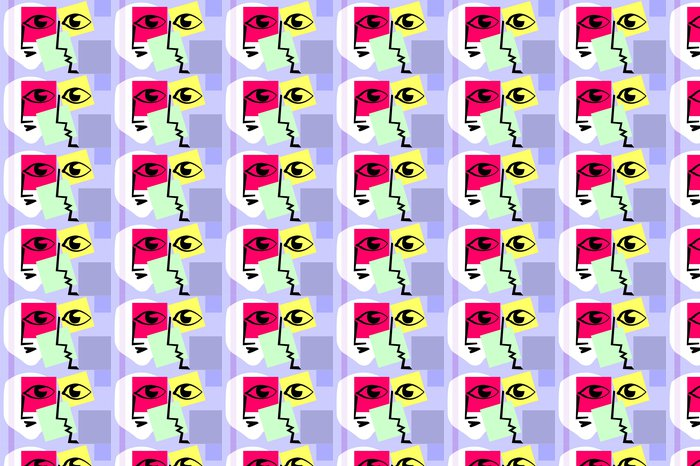 Vinylová Tapeta Art abstraktní v inerciální design pozadí - Umění a tvorba