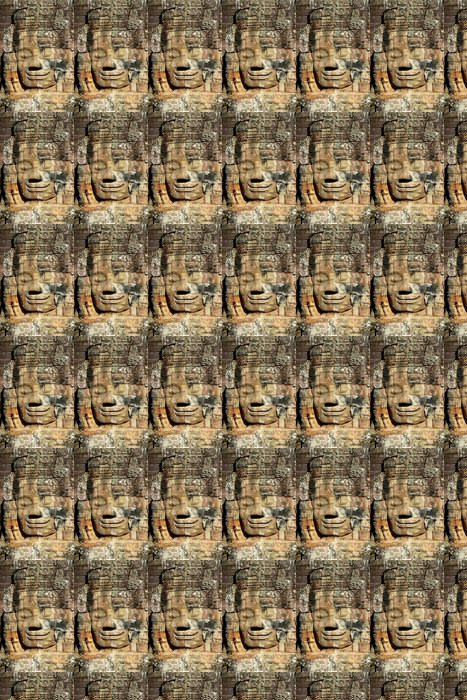 stone face at Angkor Wat Vinyl Wallpaper - Asia