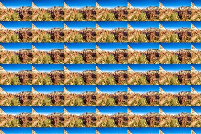 Vinylová Tapeta Krásný výhled na kaňon v národním parku Zion. - Přírodní krásy