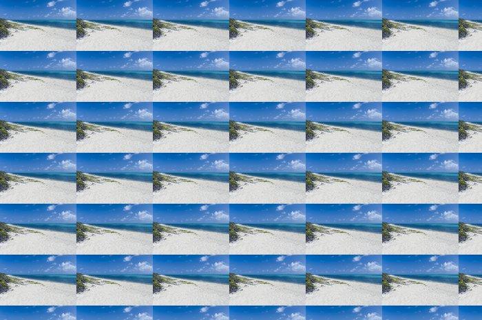Vinylová Tapeta Bílá pláž - Voda