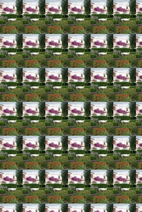 Vinylová Tapeta Krásný dům zahrada na Tenerife - Domov a zahrada