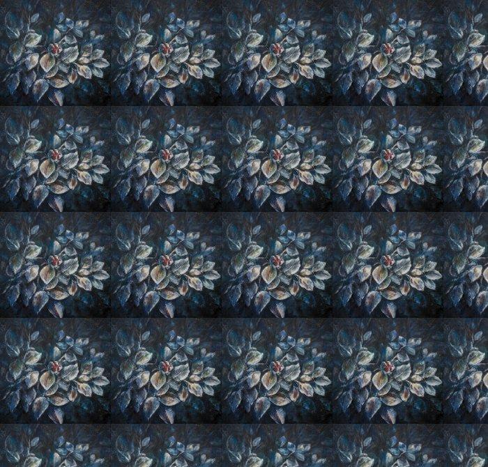 Vinylová Tapeta SONY Frozen rose malované akrylovými barvami. - Roční období