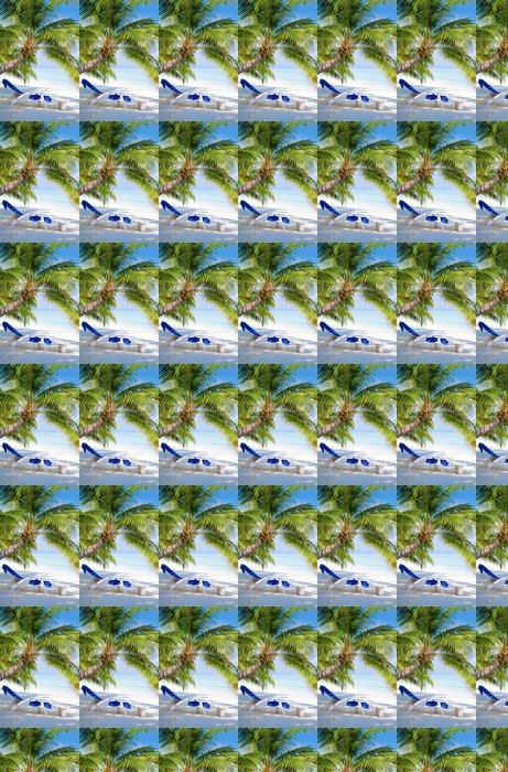 Vinylová Tapeta Pláž na tropickém ostrově - Ostrovy