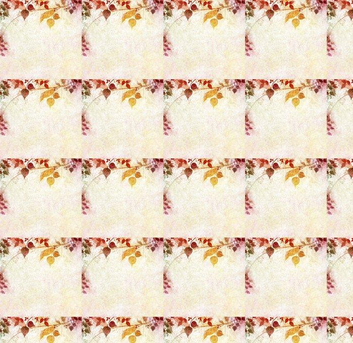 Vinylová Tapeta Vintage floral s starého papíru pozadí - Pozadí