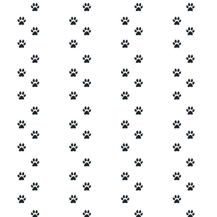 Vinylová Tapeta Hundepfote - Život