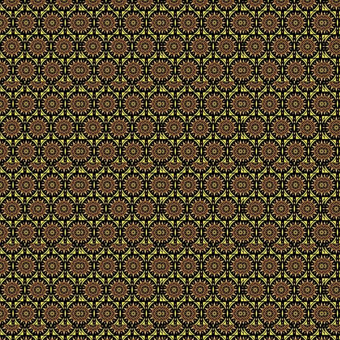 Vinylová Tapeta Marocké dlaždice solární bezproblémové vzorek, vektor - Pozadí