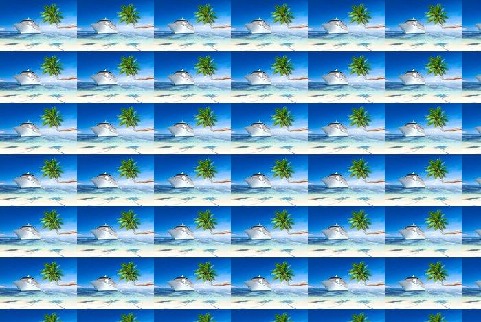 Vinylová Tapeta Cruise ship - Lodě