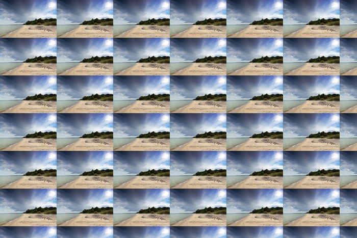 Vinylová Tapeta Švédská strana Baltského moře s písečnou pláží - Evropa