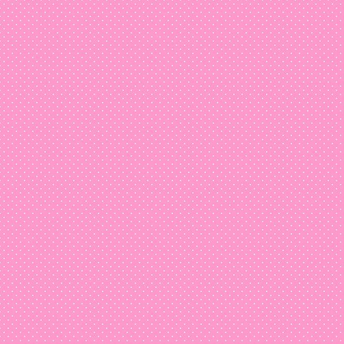 Vinylová Tapeta Dlaždice vektoru vzor s bílými puntíky na růžovém pozadí - Témata