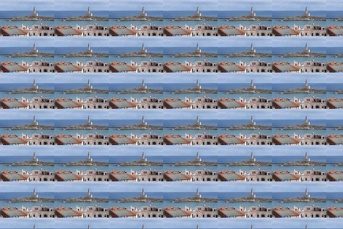 Vinylová Tapeta Il Faro di Vieste (Itálie) - Prázdniny