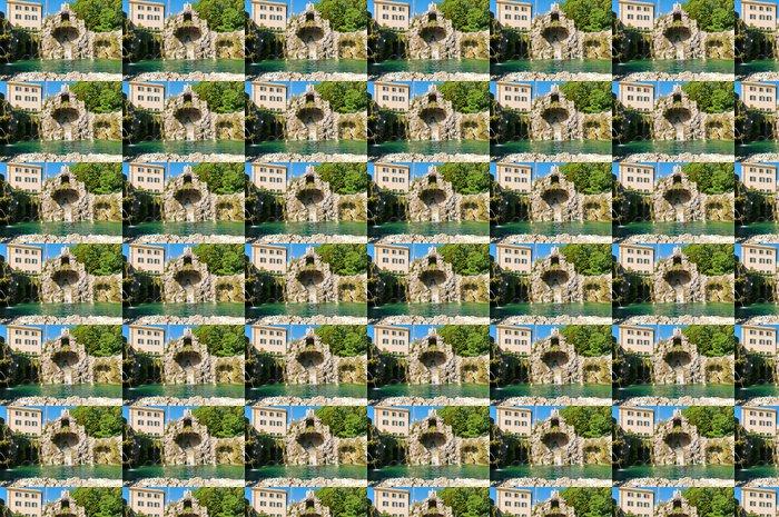 Vinylová Tapeta Fontána Eagle na Vatikánské zahrady - Evropská města