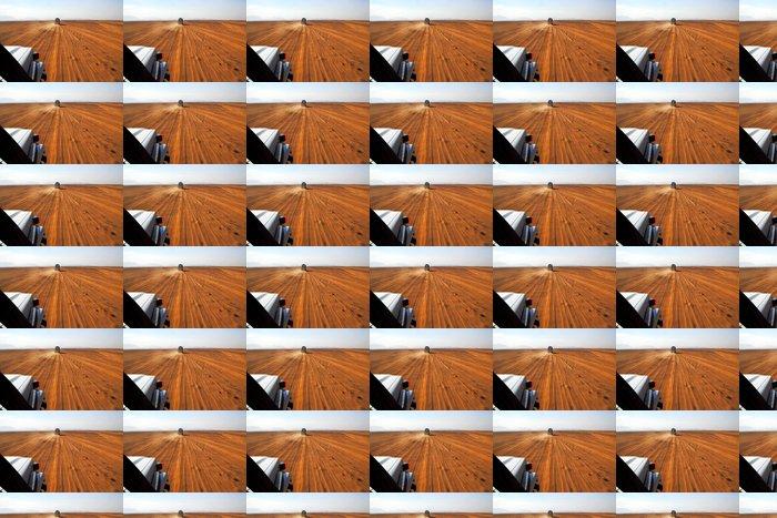 Vinylová Tapeta Safari na džípech - Prázdniny