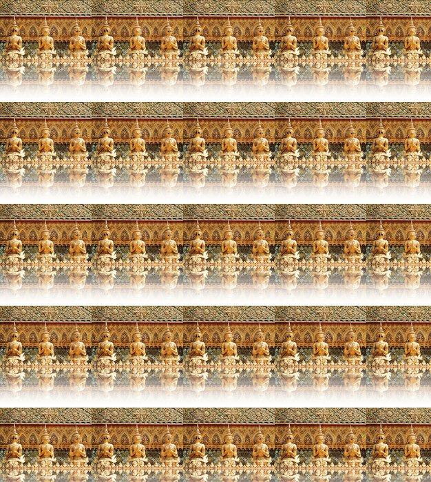 Vinylová Tapeta Demon Guardian Sochy na Wat Phra Kaew - Asie