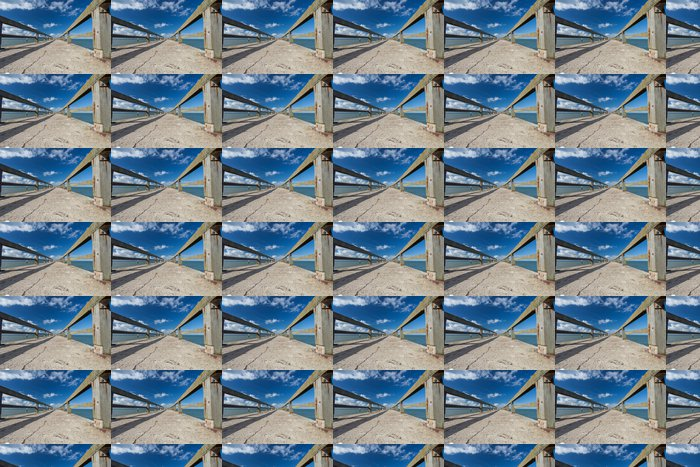 Vinylová Tapeta Ponton molo a kanál Grandcamp Normandie - Infrastruktura