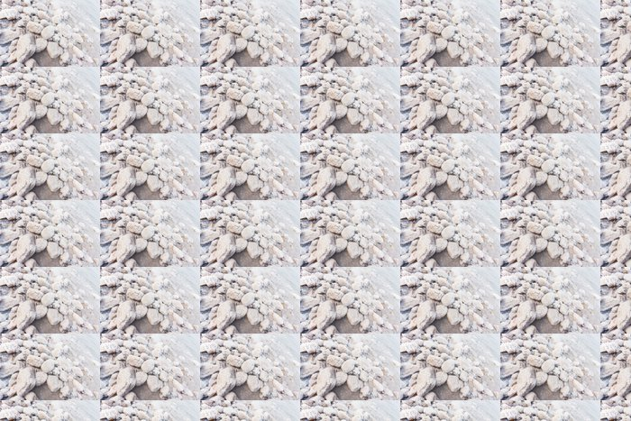 Vinylová Tapeta Skály se solí na břehu Mrtvého moře, Jordánsko - Životní styl, péče o tělo a krása