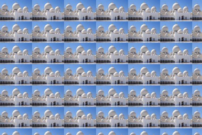 Vinylová Tapeta Sheikh Zayed Mosque v Abu Dhabi, Spojené arabské emiráty - Střední Východ