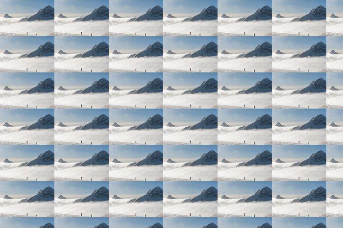 Vinylová Tapeta Ledovec Hintertux - Evropa