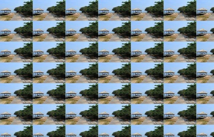 Vinylová Tapeta Pohled Beach krajina na dovolenou výlet - Prázdniny