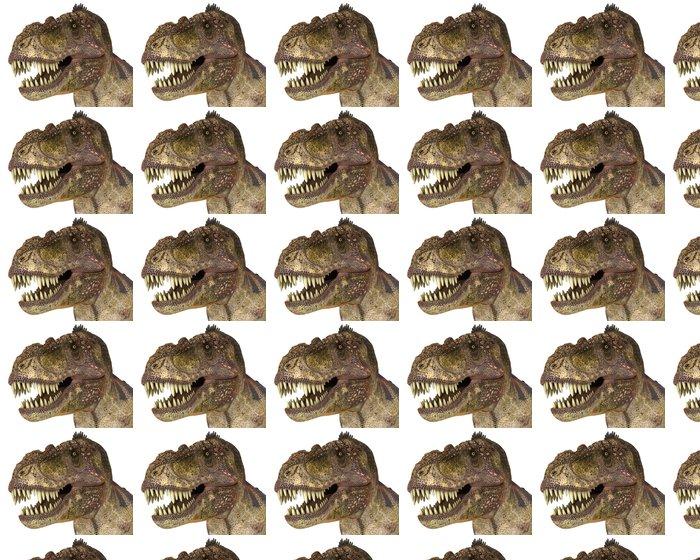 Vinylová Tapeta T rex zírající - Nálepka na stěny