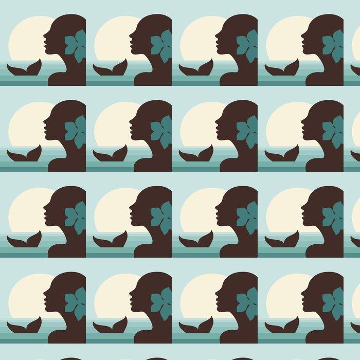 Vinylová Tapeta Mořská panna - Imaginární zvířata