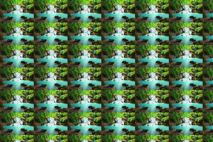 Vinylová Tapeta Huay mae Kamin vodopád - Témata