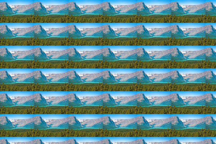 Vinylová Tapeta Krásná krajina v národním parku Jasper, Alberta, Kanada - Amerika