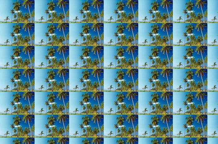 Vinylová Tapeta Palmy - Prázdniny