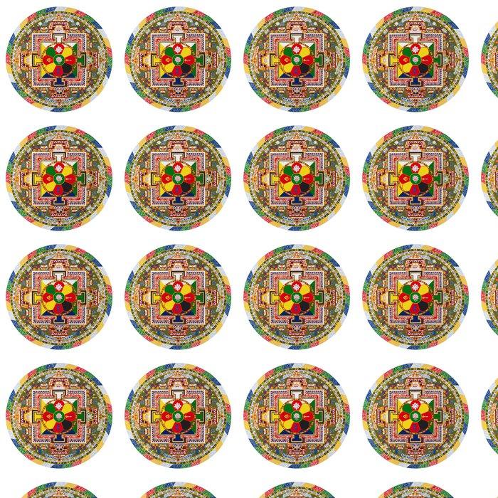 Vinylová Tapeta Tibetská mandala - Nálepka na stěny