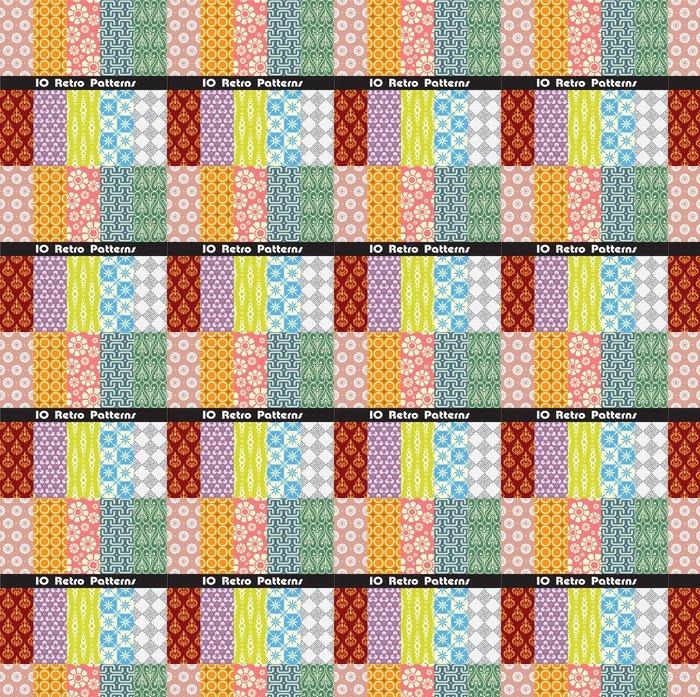 Vinylová Tapeta Retro kolekce vzory pro výrobu bezešvé tapety - Pozadí