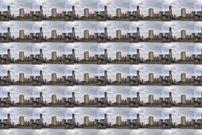 Vinylová Tapeta Brooklyn Bridge v New Yorku - Americká města