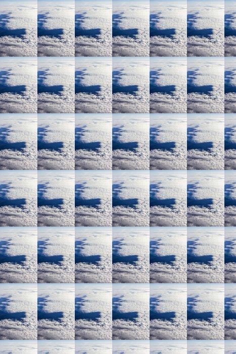 Vinylová Tapeta Modrá obloha s mraky - Nebe