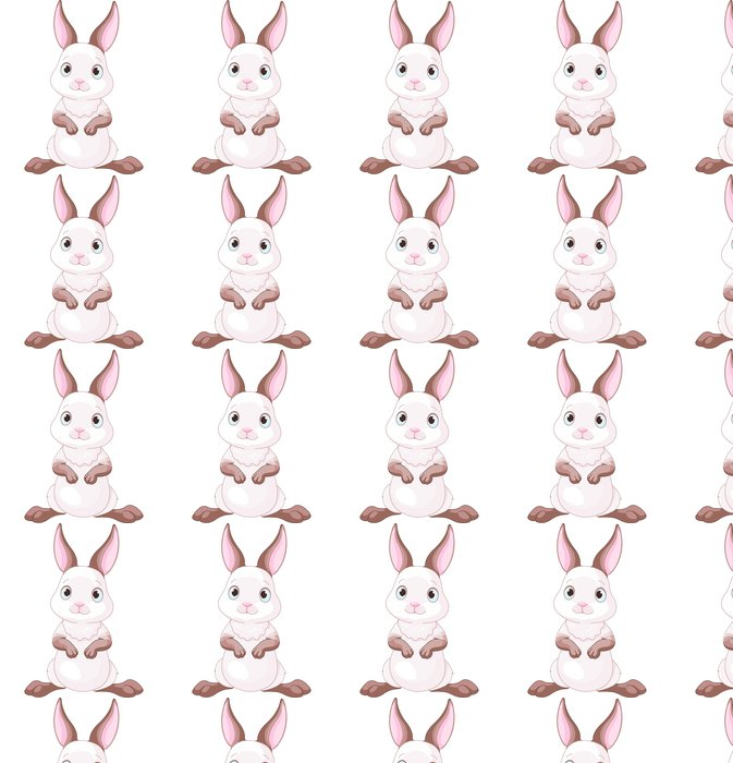 Vinylová Tapeta Cute Bunny - Mezinárodní svátky