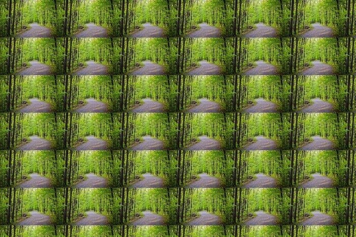 Vinylová Tapeta Cesta v lese - Roční období