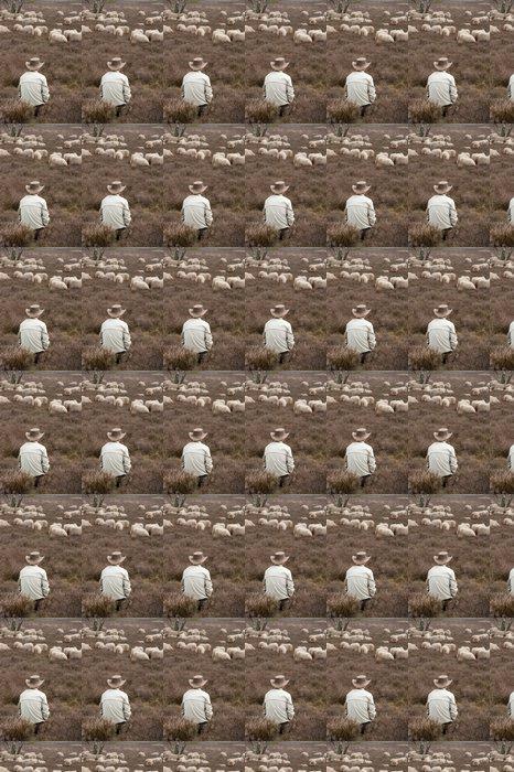 Vinylová Tapeta Ovce ve vřesoviště - Savci