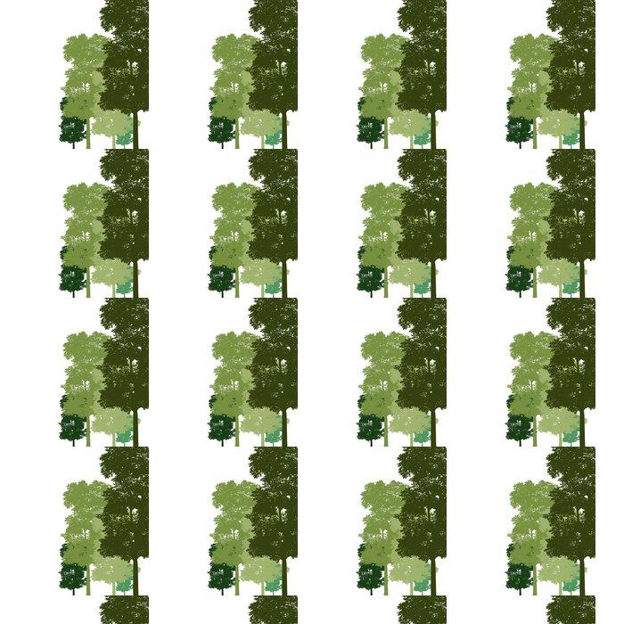 Vinylová Tapeta Tree. Vektor - Nálepka na stěny