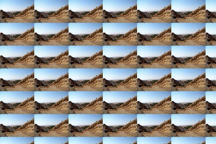 Vinylová Tapeta Velkolepé Canyon Mides - Tunisko, Afrika - Afrika