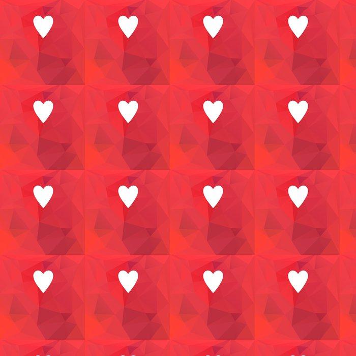 Vinylová Tapeta Holiday karta se srdcem - Mezinárodní svátky