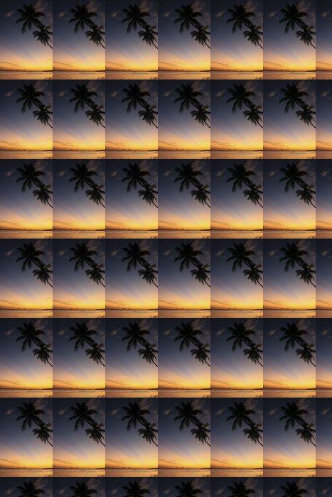 Vinylová Tapeta Boca Chica pláži při západu slunce - Voda