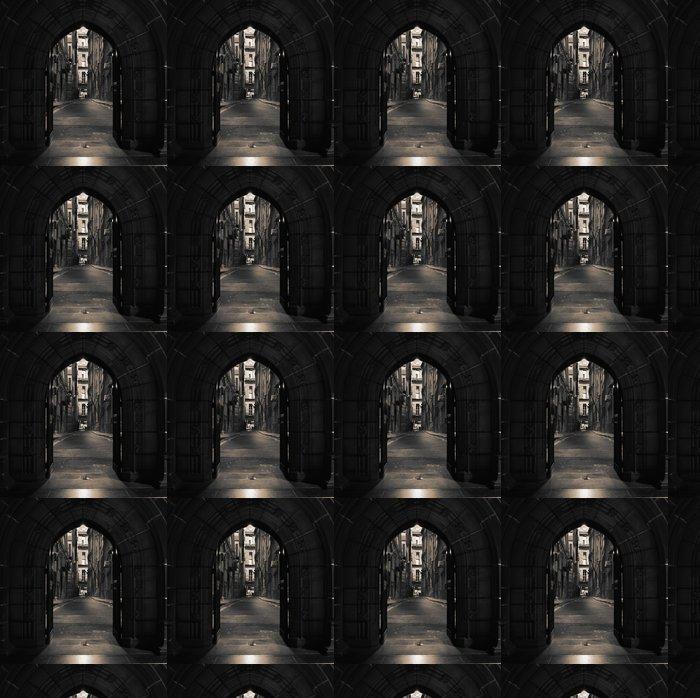 Vinylová Tapeta Obloukové dveře ve starém domě - Témata