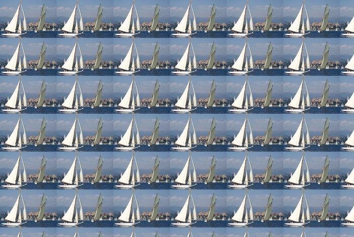 Vinylová Tapeta Classic yacht regatta - Vodní sporty