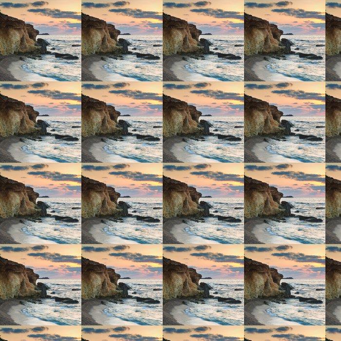 Vinylová Tapeta Ohromující krajiny svítání svítání s skalnatém pobřeží - Voda